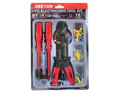 81 Piece Electricians Tool Kit